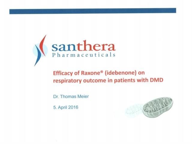 Duchenne-Forschung bei Santhera Schweiz